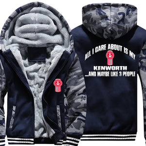 Superwarm All I Care About Is My Kenworth Jacket With FREE SHIPPING!