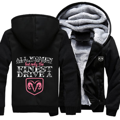 All Women Are Created Equal But Only The Finest Drive A Ram Jacket With Free Shipping!