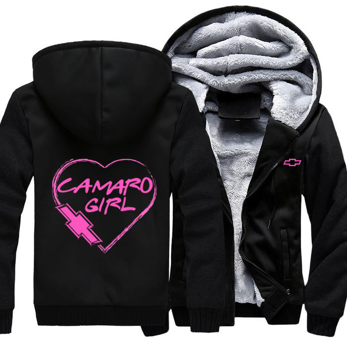 Camaro Girl Heart Jacket With FREE  SHIPPING!
