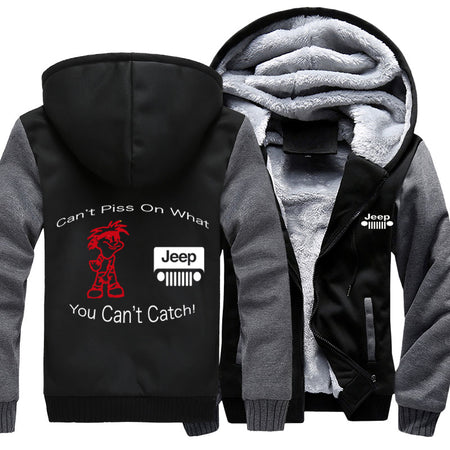 Can't Piss On What You Can't Catch Jeep Jacket With FREE SHIPPING!