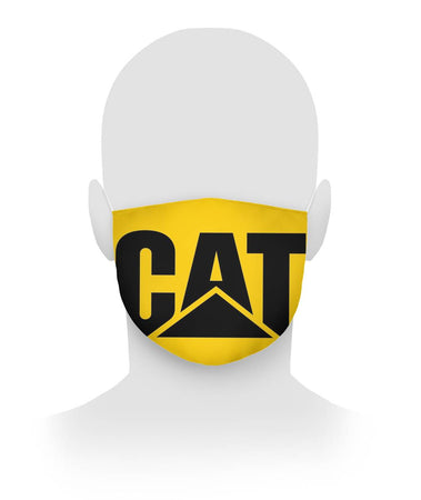 Caterpillar Face Mask V5 Cloth Face Mask