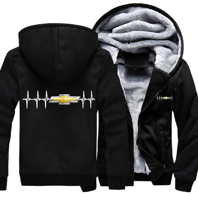 Superwarm Chevy Heartbeat Jacket With FREE SHIPPING!