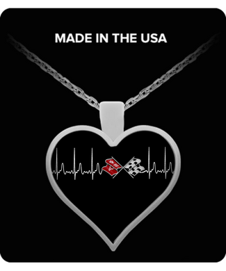 A Must Have Corvette C3 Heartbeat Necklace!