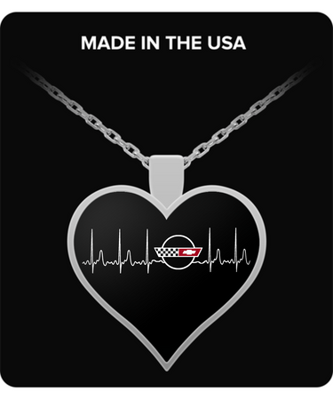 A Must Have - Corvette C4 Heartbeat Necklace!