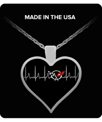 A Must Have Corvette C5 Heartbeat Necklace!