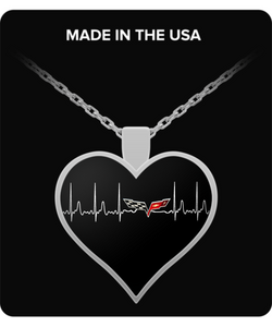 A Must Have Corvette C6 Heartbeat Necklace!
