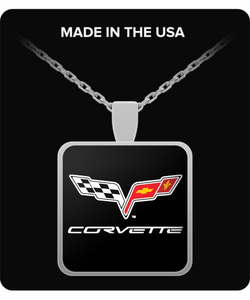 A Must Have - Corvette C6 Logo Necklace!