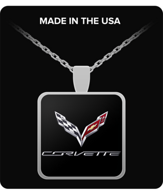 A Must Have - Corvette C7 Logo Necklace