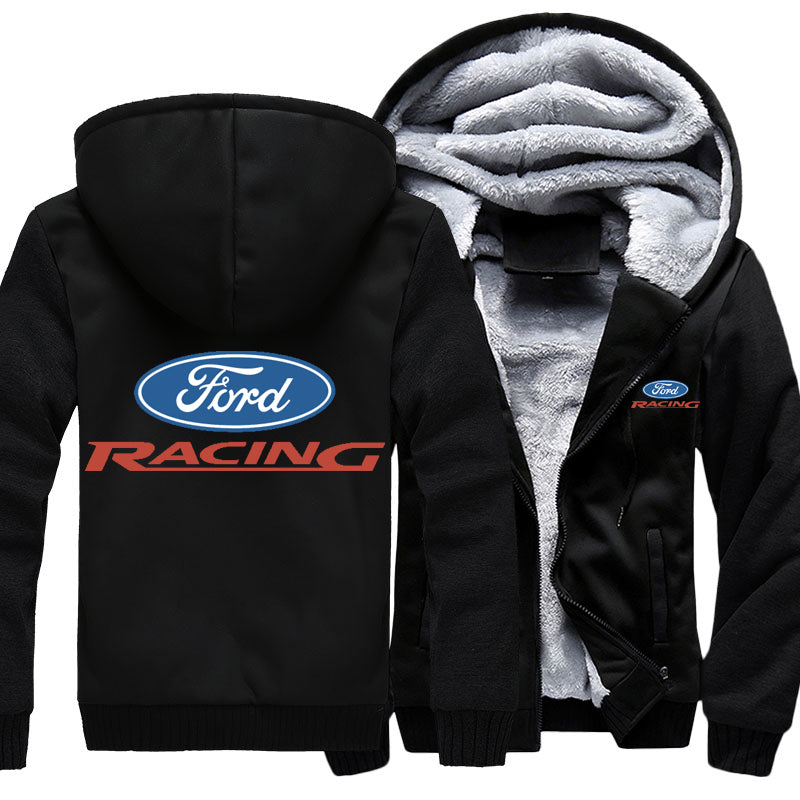 Super Warm Ford Racing Jacket With FREE SHIPPING!