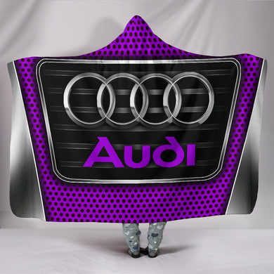 Audi Hooded Blanket Purple With FREE SHIPPING TODAY!