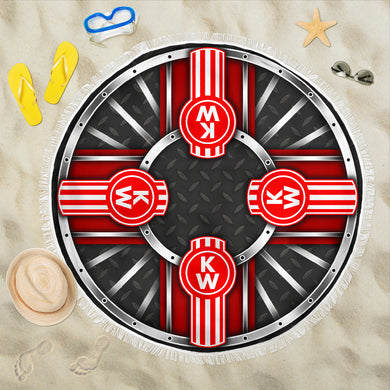 Kenworth Beach Blanket With FREE SHIPPING!