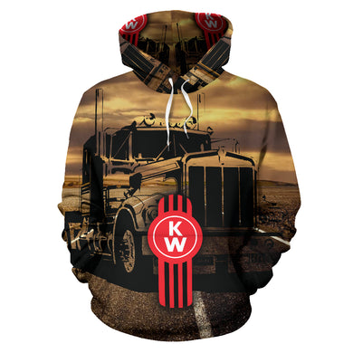 Kenworth All Over Print Hoodie With FREE SHIPPING TODAY!