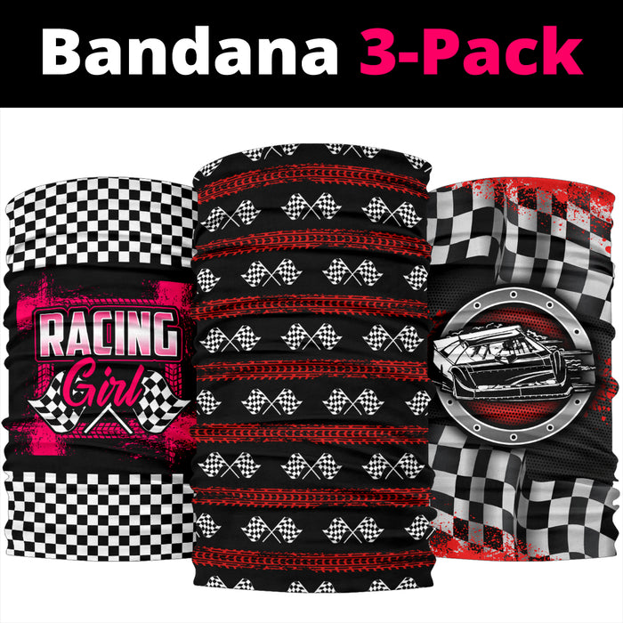 3 Pack Racing Bandanas