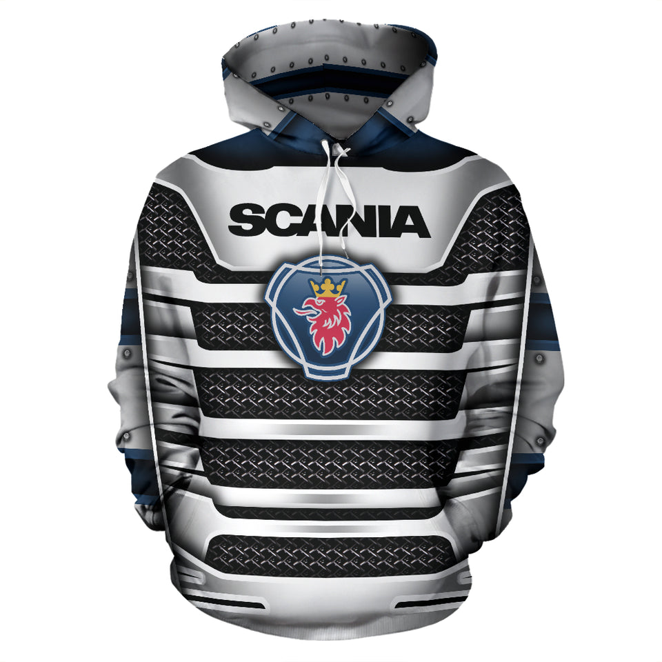 Scania All Over Print Hoodie With FREE SHIPPING TODAY!
