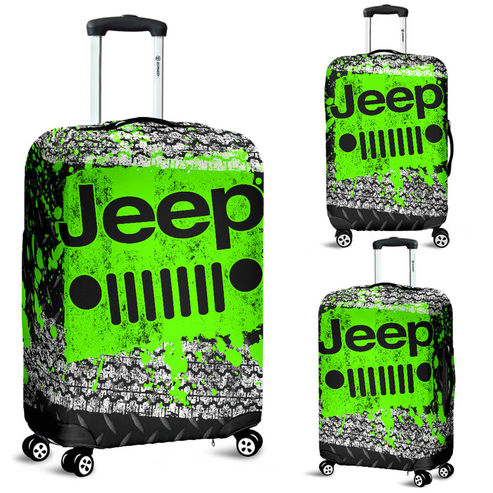 Jeep Luggage Cover Green With FREE SHIPPING!