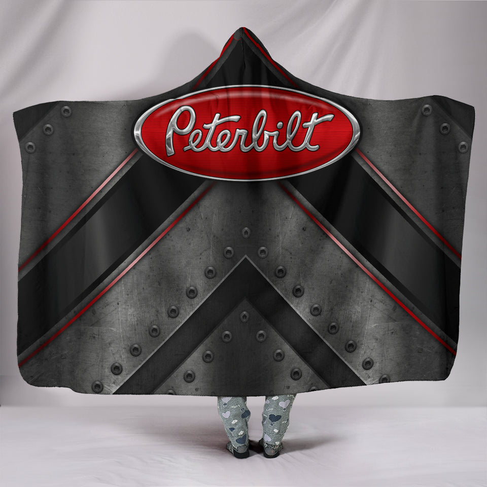 Peterbilt Hooded Blanket With FREE SHIPPING TODAY!