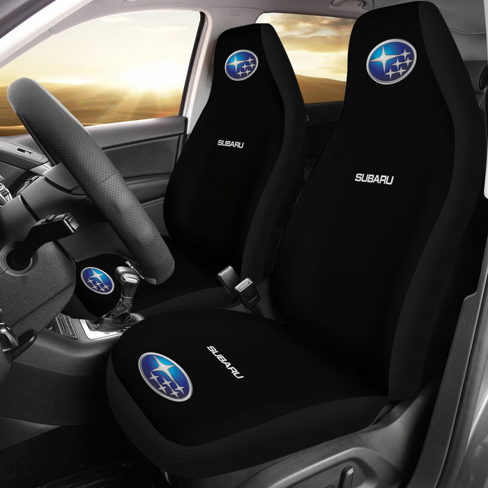 2 Front Subaru Seat Covers Black With FREE SHIPPING TODAY!
