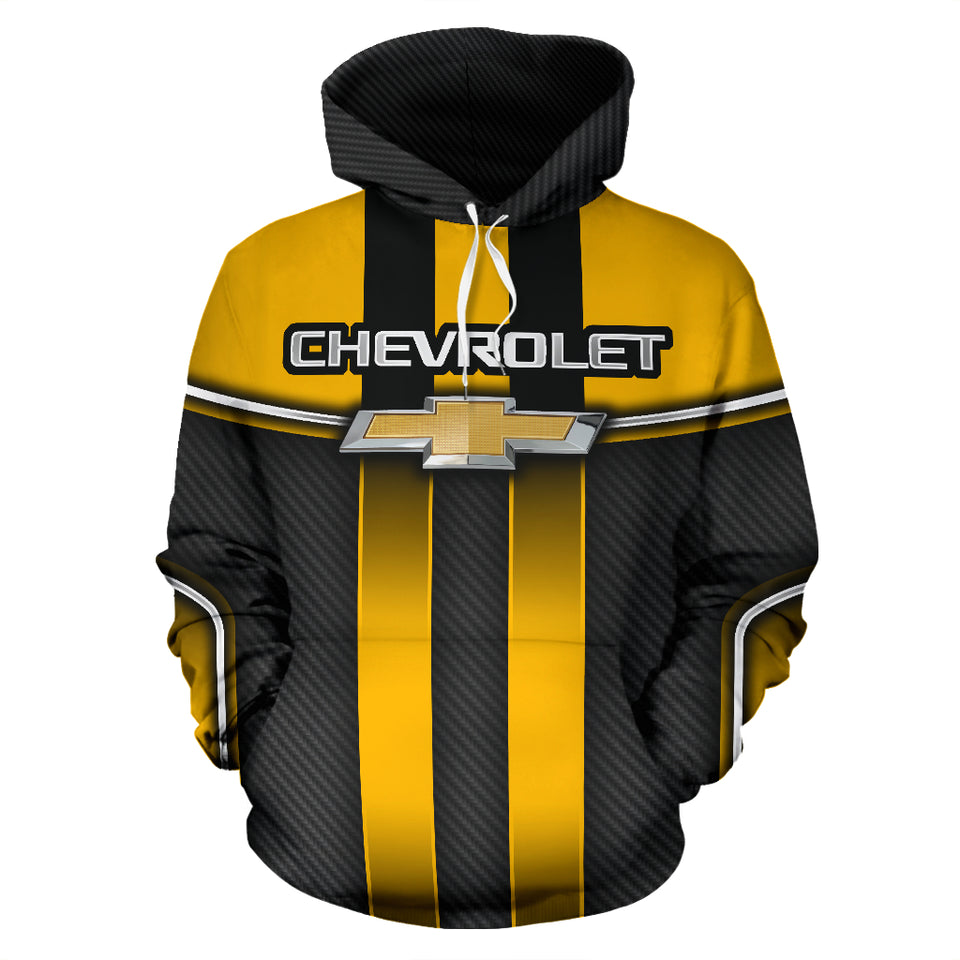 Chevy All Over Print Hoodie With FREE SHIPPING TODAY!