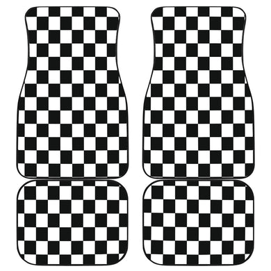 4 Racing Checkered Flag Mats V1 With FREE SHIPPING!