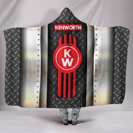 Kenworth Hooded Blanket With FREE SHIPPING TODAY!