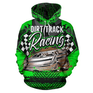 Dirt Track Racing Hoodie With Express Shipping!