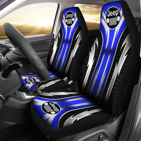 Jeep Seat Covers Blue