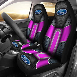 Ford 2 Front Seat Covers Pink With FREE SHIPPING TODAY!