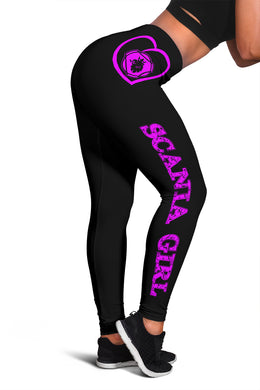 Scania Leggings Pink