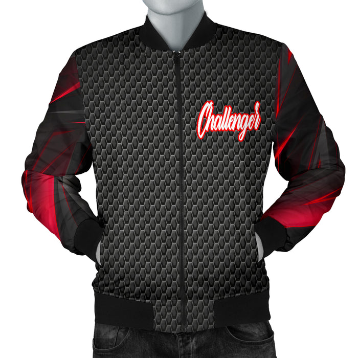 Dodge Challenger Men's Bomber Jacket RA