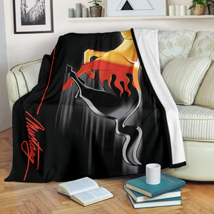 Mustang Blanket V2 With FREE SHIPPING!