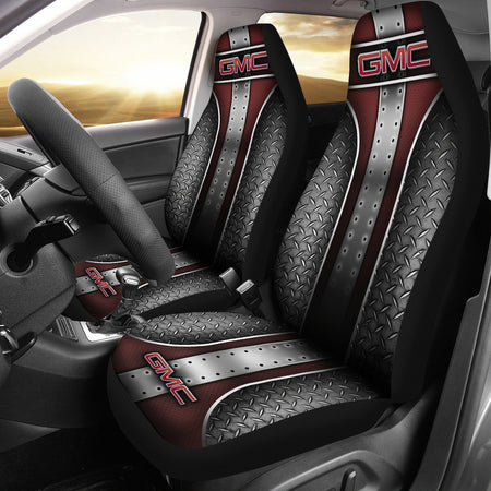 2 Front GMC Seat Covers With FREE SHIPPING TODAY!