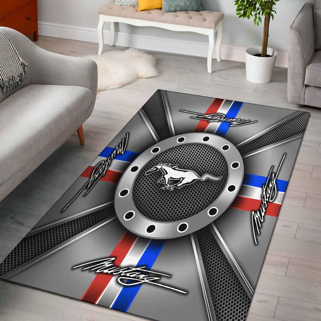 Mustang Rug Version 1 With FREE SHIPPING!!