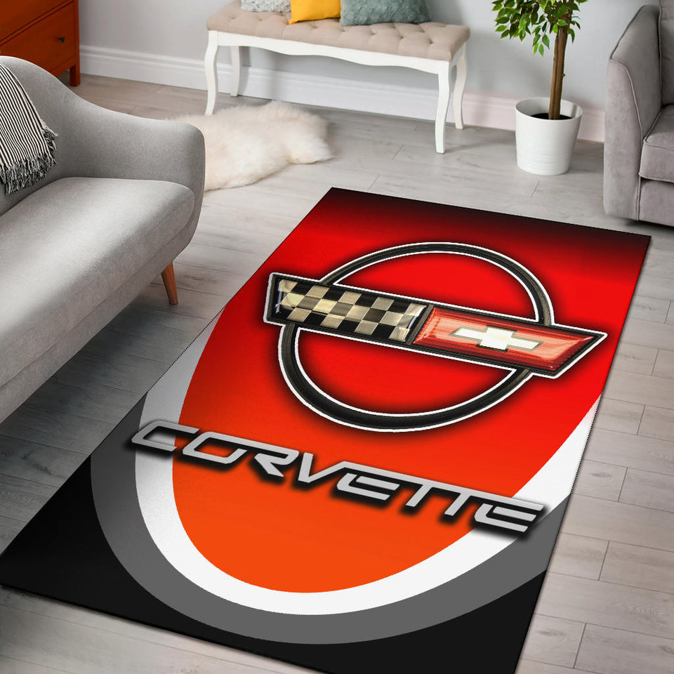 Corvette C4 Rug Version 2 With FREE SHIPPING!