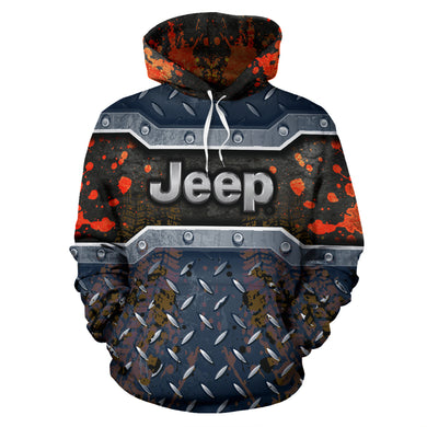 Jeep All Over Print Hoodie With FREE SHIPPING TODAY!