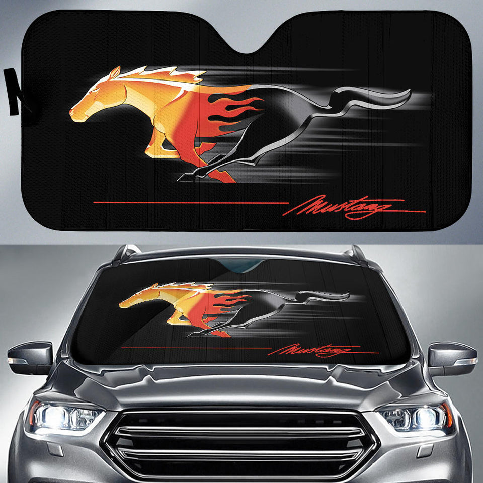Mustang Windshield Sun Shade V2 With FREE SHIPPING!