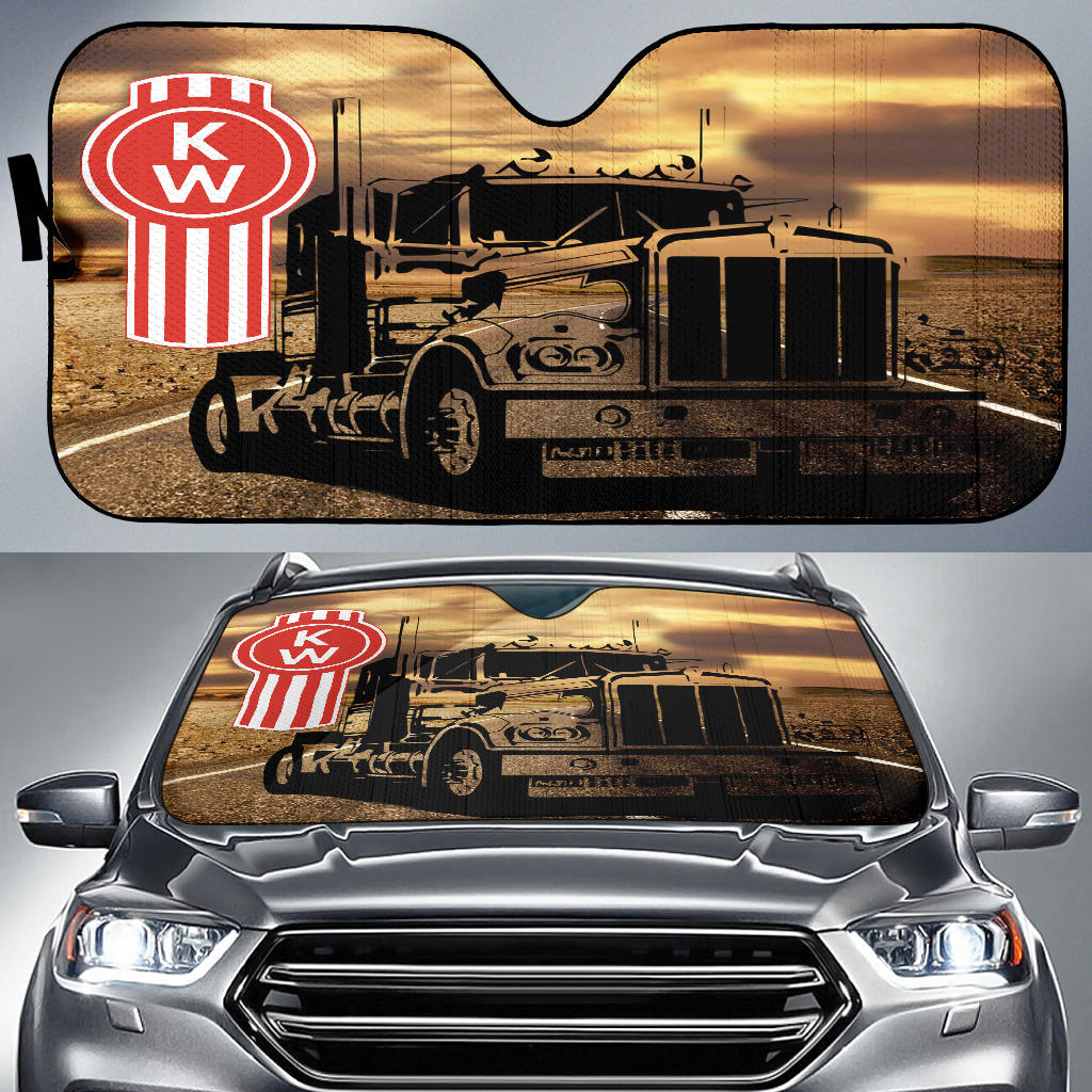 Kenworth Windshield Sun Shade V1 With FREE SHIPPING!