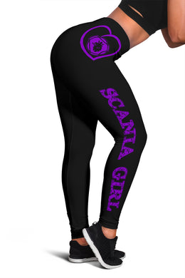 Scania Leggings Purple