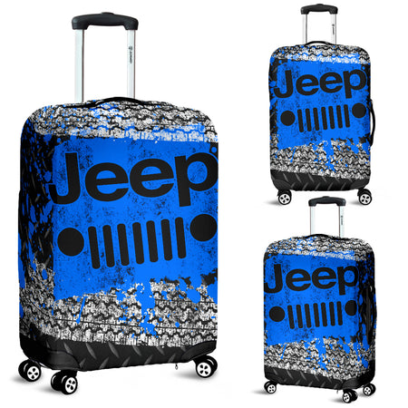 Jeep Luggage Cover Blue With FREE SHIPPING!