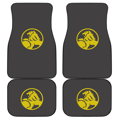 Holden Mats Dark Grey And Yellow Logo (set of 4) With FREE SHIPPING!