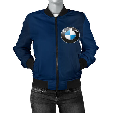 BMW Women's Bomber Jacket Blue