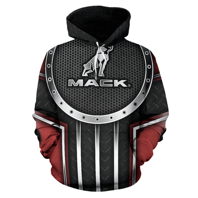 Mack All Over Print Hoodie With FREE SHIPPING TODAY!