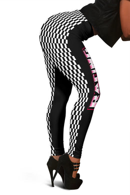 Racing Girl Leggings 2 Side Design