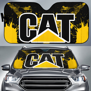 Caterpillar Windshield Sun Shade