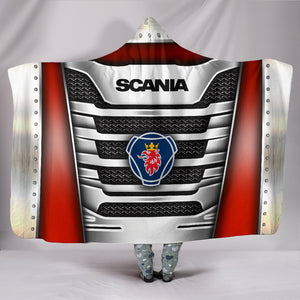 Scania Hooded Blanket With FREE SHIPPING TODAY!