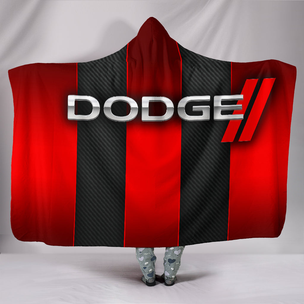 Dodge Hooded Blanket With FREE SHIPPING TODAY!