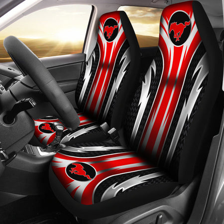 2 Front Mustang Seat Covers With FREE SHIPPING
