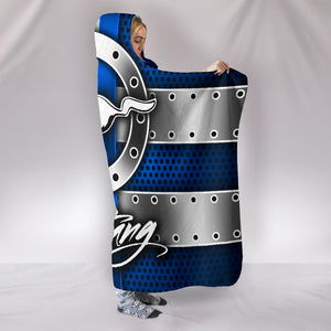Mustang Hooded Blanket With FREE SHIPPING TODAY!
