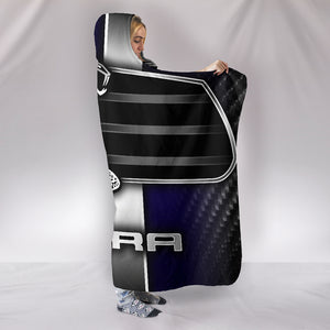 Mustang Cobra Hooded Blanket With FREE SHIPPING TODAY!