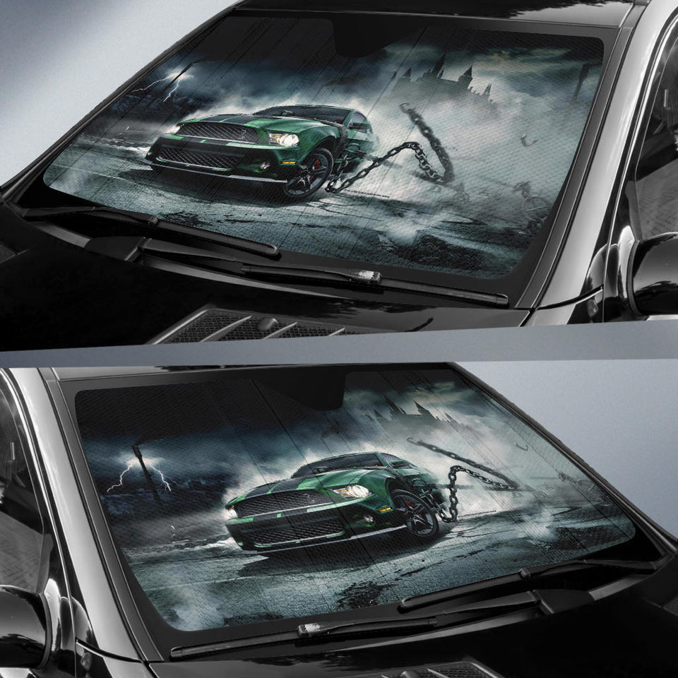 Mustang Windshield Sun Shade V4 With FREE SHIPPING