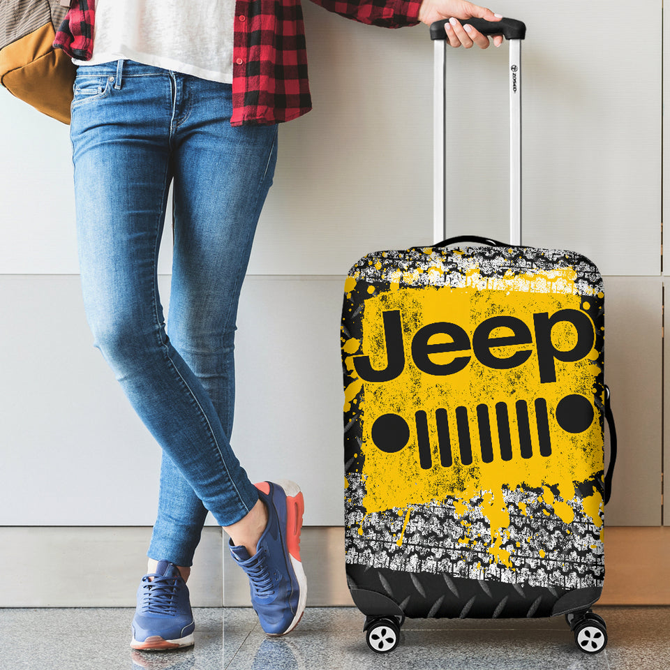 Jeep Luggage Cover Yellow With FREE SHIPPING!